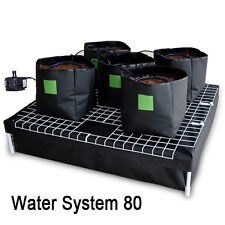 COMPLETE 5 X 9L BAGS 80X80 HYDROPONIC SYSTEM WATERING GROWING KIT + WATER PUMP