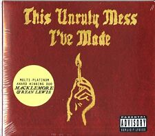 MACKLEMORE & RYAN LEWIS THIS UNRULY MESS I'VE MADE CD DIGIPACK NUOVO SIGILLATO