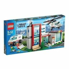 1 Lego Set #4429 City Helicopter Rescue Hospital Town Minifig