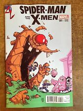 SPIDER-MAN AND THE X-MEN #1. SKOTTIE YOUNG VARIANT. NM/M