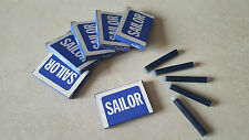 Cartridge ink cartouche encre SAILOR JAPAN stylo plume penna pen nib 鋼筆 # Bleu