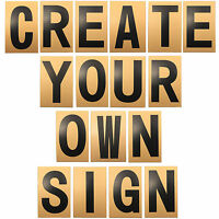 CREATE YOUR OWN PERSONALISED SIGN Home/House/Bedroom/Door/Wall Self Adhesive