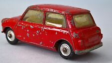 Issued 1961-65 Die-cast - CORGI TOYS 225 - Austin Seven Saloon - Red