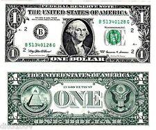 """Etats UNIS d' AMERIQUE USA Billet 1 Dollar 1999  """" B NEW YORK """" NEUF UNC"""