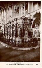 CPA 51 REIMS  l'eglise saint remi  le tombeau de st remi