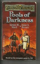 Forgotten Realms : Pools of Darkness Bk. 2 by James M. Ward (1992, Paperback)
