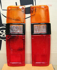 REAR TAIL LIGHT LAMP LENS FOR TOYOTA HILUX RN30 RN40 PICKUP TRUCK 79-83 PAIR 80