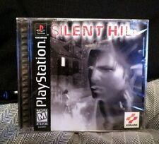 Silent Hill (Sony PlayStation 1, 1999) NIB SEALED BLACK LABEL