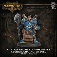 Warmachine: Cygnar Captain Arlen Strangewayes Character Solo PIP 31056 NEW