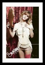 EMMA WATSON AUTOGRAPHED SIGNED & FRAMED PP POSTER PHOTO