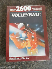 VOLLEYBALL  NEW OLD STOCK SEALED ATARI 2600 RETRO GAME FROM 1988
