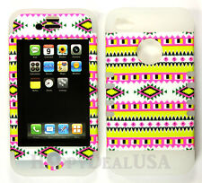 KoolKase Hybrid Armor Silicone Cover Case for Apple iPhone 4 4S - Tribal 02