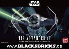Star Wars Modellbausatz, Tie Fighter Advanced x1, 1/72 von Bandai, neu & OVP