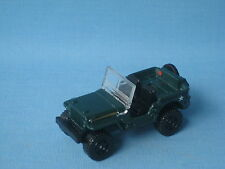 Matchbox Jeep Willys Army 4x4 WWII Military Green Toy Model Car 60mm Star
