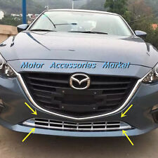 New Chrome Front Bottom Grille Cover Trim for Mazda 3 M3 Axela 2014 2015 2016