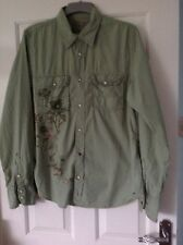Mens Designer Shirt From Z Brand Size L In Good Condition