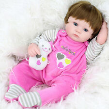 Handmade Realistic Baby Dolls Girl Real Life Like Alive Fake Baby Reborn Doll UK