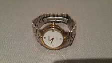 RAYMOND WEIL GENEVE PARSIFAL STAINLESS STEEL & 18K GOLD MENS WATCH 9190
