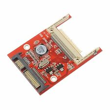 "Bootable CF Compact Flash Type I/II to 2.5"" SATA Serial Adapter Conveter Card"