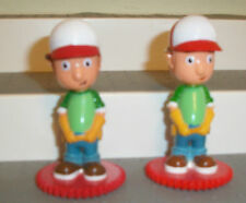 DISNEY HANDY MANNY CONSTRUCTION PVC FIGURE LOT OF 2  CAKE TOPPER TOY 3 INCH