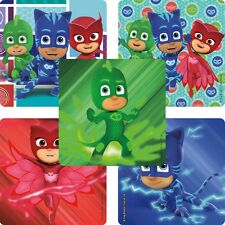 PJ Masks Stickers x 5 - Birthday Party - Favours - Loot Ideas - PJ Masks Party