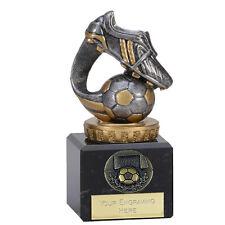 FOOTBALL BOOT TROPHY UOMO della corrispondenza Award 12cm GRATIS INCISIONE 137B. fx005