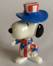 MCDONALDS TOY – PEANUTS – SNOOPY - WORLD TOUR - UNITED STATES