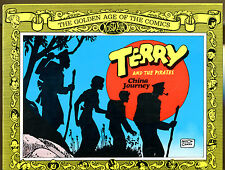 Terry and the Pirates: China Journey by Milton Caniff-1st Print-Nostalgia Press