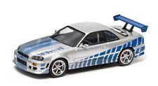 Greenlight Brian's 1999 NISSAN SKYLINE GT-R Fast & Furios 1:43 métalliques 86208