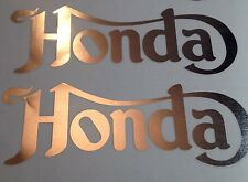 HONDA-NORTON TANK DECALS STYLE HONDA FOUR HONDA CAFE RACER DECALS