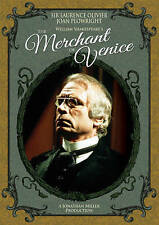 William Shakespeare's: THE MERCHANT OF VENICE (Sir Laurence Olivier) DVD