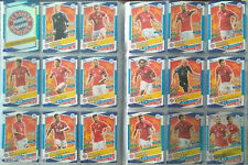 FC BAYER MÜNCHEN - MATCH ATTAX - FULL SET 18 -  UCL 2016-17 TOPPS