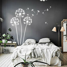 Dandelion Wall Decals Flower Art Decal Vinyl Kids Room Sticker Home Decor LM229