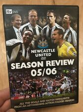Newcastle United Season Review 2005/2006(UK DVD)Football Alan Shearer Owen Emre