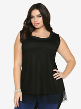 NEW Torrid Mesh Overlay Tank  TOP  Plus Size 2