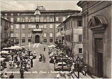 CASTELGANDOLFO - PIAZZA DELLA LIBERTA' E PALAZZO PONTIFICIO (ROMA) 1961