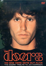 "DVD NEUF ""THE DOORS - NO ONE HERE GETS OUT ALIVE"" The D. tribute to Jim Morrison"
