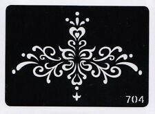 GT704 Body Art TEmporary Glitter Tattoo Stencil  Tribal