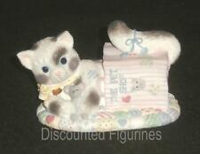 Calico Kittens Enesco Our Friendship Is Out Of This Bag Figurine #210536 NEW