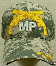 LICENSED CAMO U.S. ARMY MILITARY POLICE CORPS MP UNIT COMBAT WAR AGENT CAP HAT