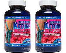 X 2 BTL RASPBERRY KETONE LEAN BEST #1 MARITZMAYER Fat Weight Loss 1200 mg 60 Cap