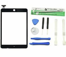 Black Ipad Mini Front Glass Panel Touch Lens Digitizer Screen Replacement &Tools