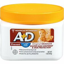 A+D Original Diaper Rash & Skin Protectant Ointment 16 Oz