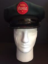1950's Coca-Cola Delivery Man's Hat (Green)