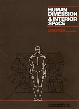 Human Dimension & Interior Space: A Source Book of Design Reference Standards