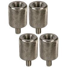 """Microphone Micro trépied 3/8 """"à 1/4"""" Thread Adaptateur Convertisseur x 4"""