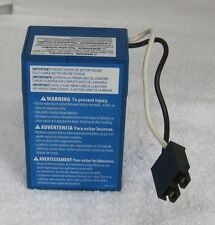 Power Wheels 00801-1900 Blue 4 Amp Battery Fisher Price Genuine 1 Year Warranty
