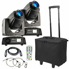 2 X Chauvet Intimidator Spot 255 IRC 60w Led Moving Head Efecto Luz Dmx Pack
