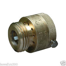 "CASH ACME Hose Bibb Atmospheric Back Flow Preventer Brass 3/4"" x3/4"" garden hose"