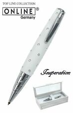 ONLINE Pens / Crystal Inspiration Pen In Magic White #39018 / Pleasure Boxed